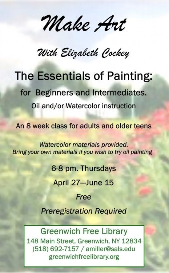 The Essentials of Painting 8 Week Class