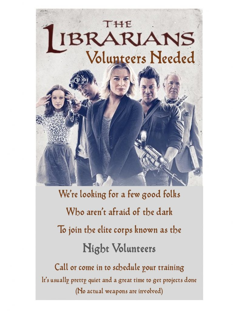 Night Volunteers Needed