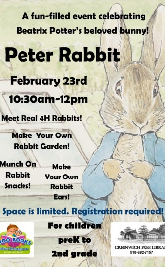 Peter Rabbit!