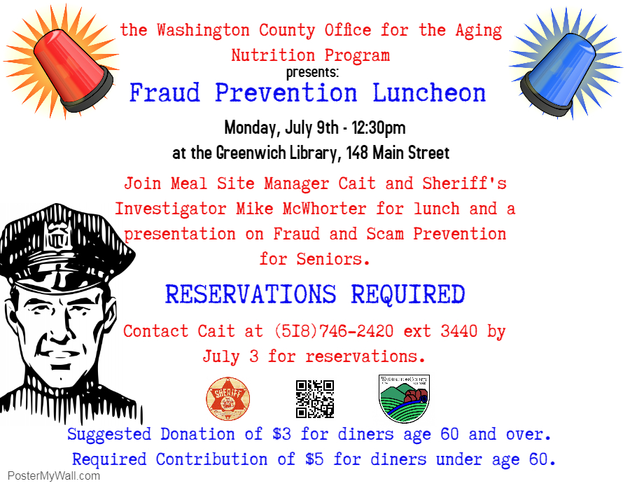Greenwich Library Fraud Prevention Luncheon 7.9.18