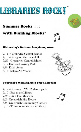 Building Blocks Pre K This Summer