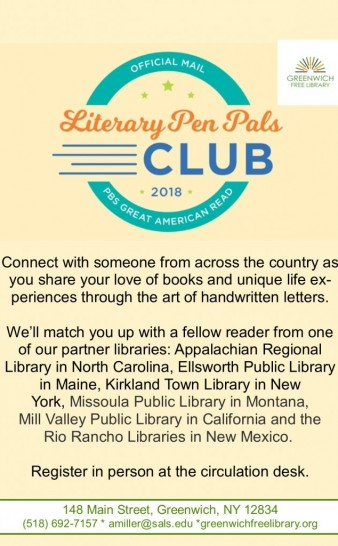 Literary Pen Pals