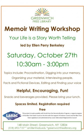Memoir Workshop