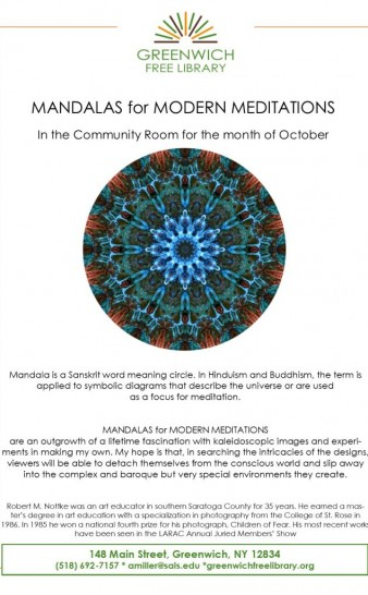 October Community Room Ehibit